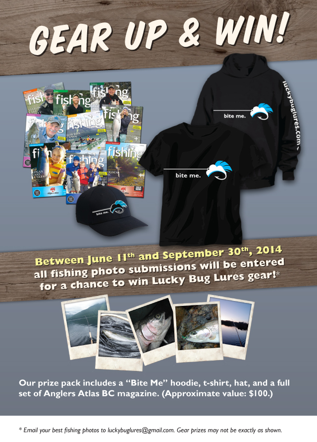 Gear Up and Win Fishing Photo Contest with Lucky Bug Lures