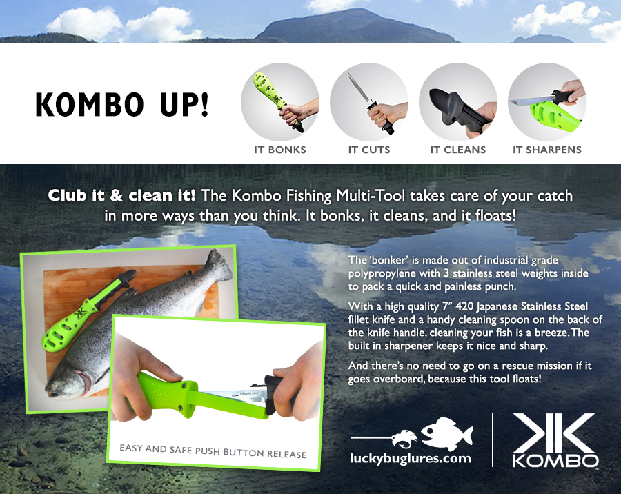 Kombo up! New 4-in-1 Fishing Multi-tool