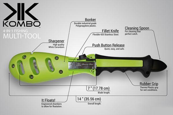 Kombo Fish Tool - specifications